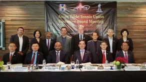 اختتم اجتماع المكتب التنفيذي للاتحاد الآسيوي لكرة الطاولة في بوكيت