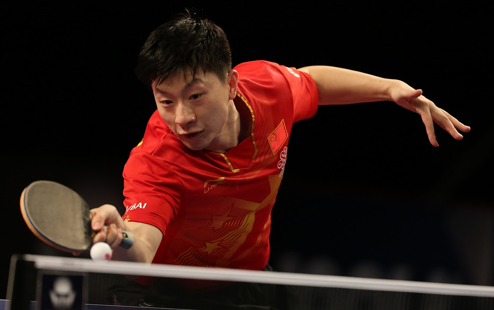 Ma Long once again (Photo: Hussein Sayed)