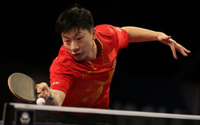 Once again Ma Long, title retained