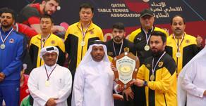 نادي قطر بطلا لدوري رجال الطاولة 2019-2020