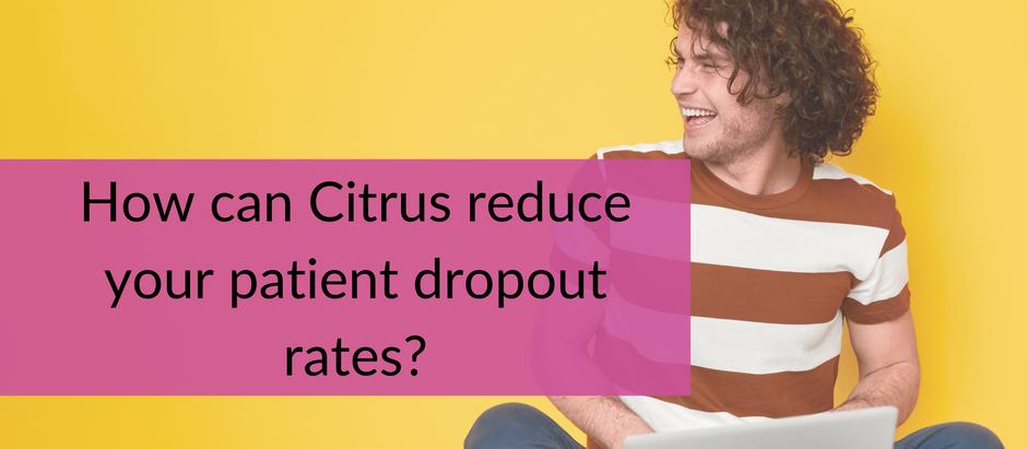 How can Citrus reduce patient dropout rates?