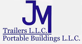 JM Portable Buildings and JM Trailers Logo