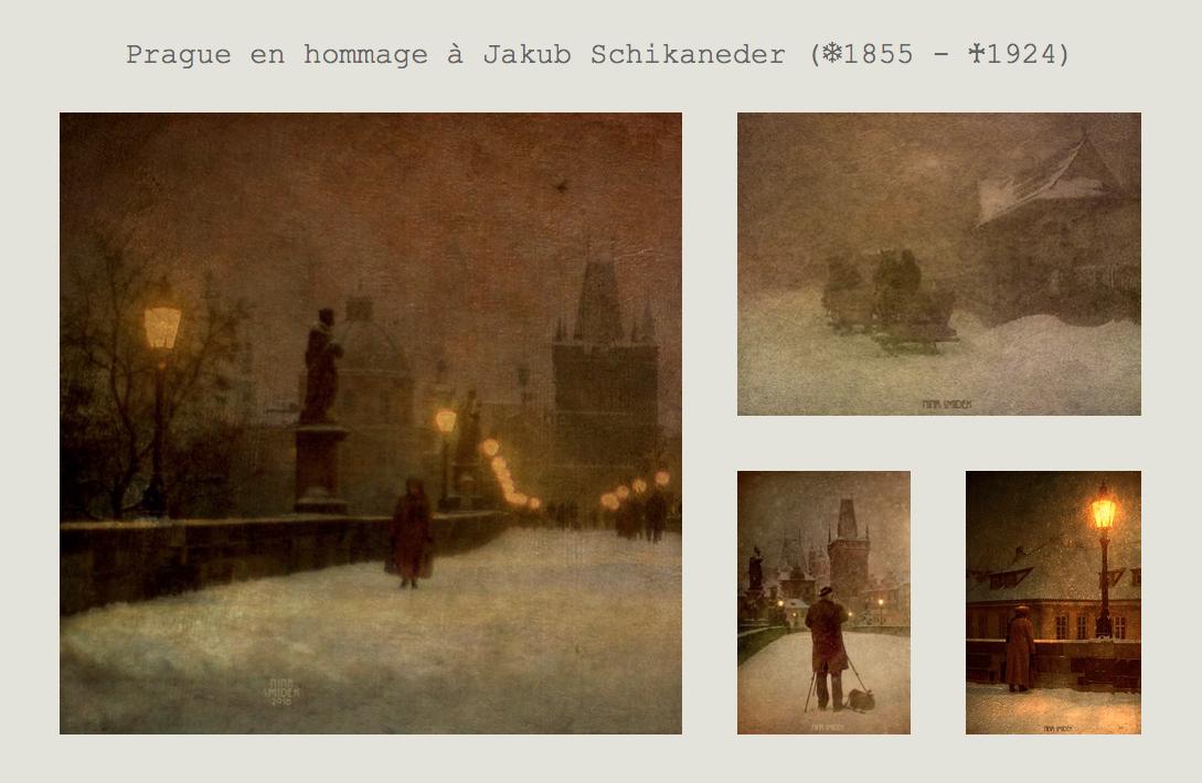 Prague, en hommage à Jakub Schikaneder