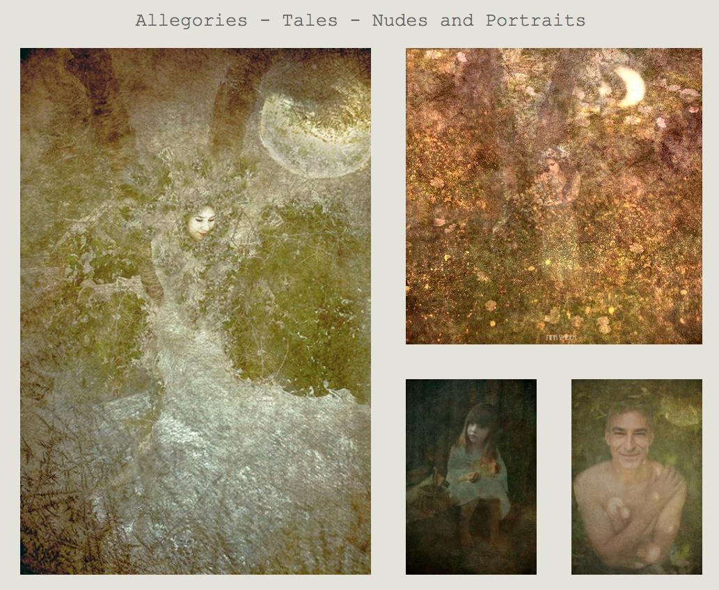 Allégories - Contes - Nus et Portraits