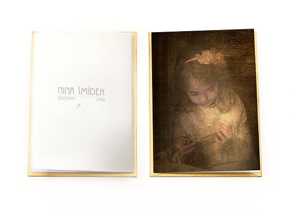 Nina Smidek's fine art greeting card
