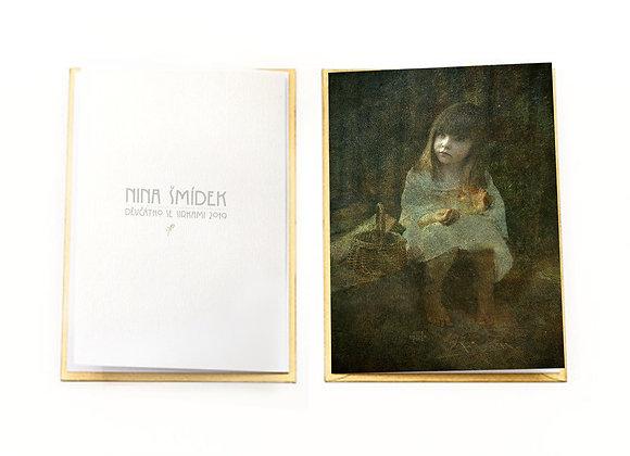 Nina Šmídek's fine art greeting card