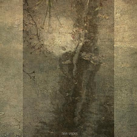 Arbres et la lune chez Monet