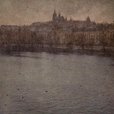 Zimní Praha