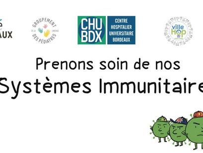 Prenons soin de nos systèmes immunitaires !