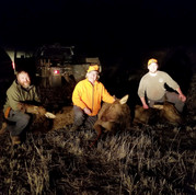 COW HUNTERS IN LAST MINUTES OF 4TH SEASON