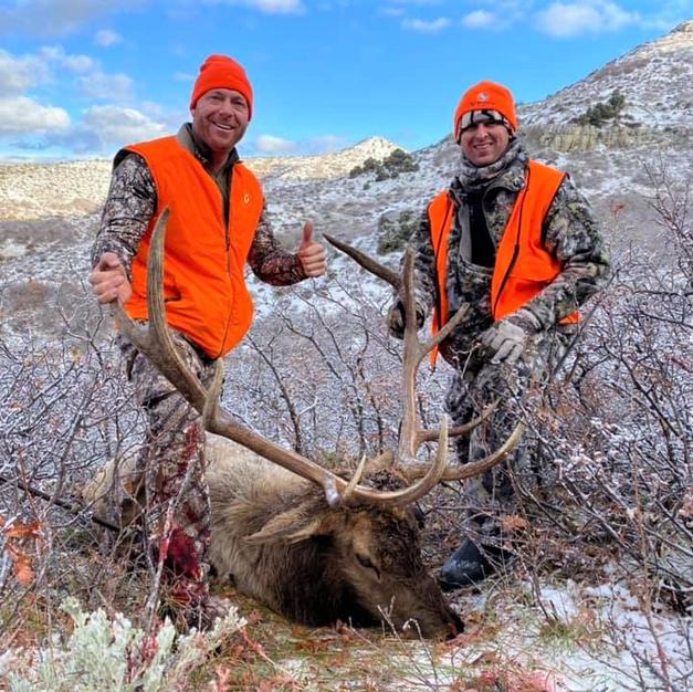 Joe - 3rd rifle season bull