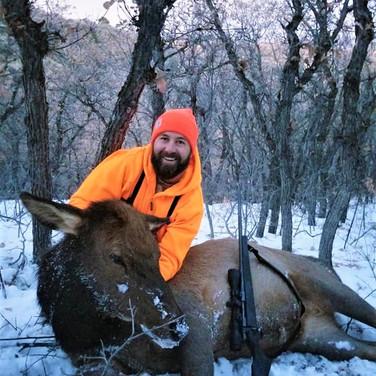 Robbie's 3rd season cow elk
