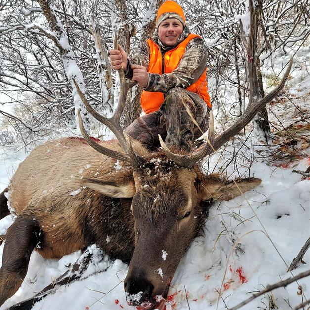Josh - 3rd rifle season bull