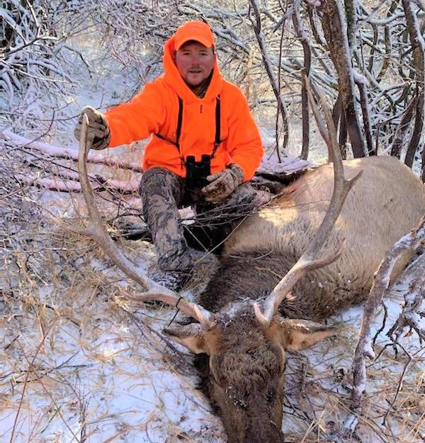 Anthony - 3rd rifle season bull