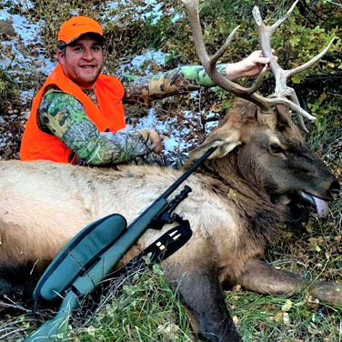 Steve's bull 1st rifle season