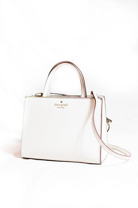 KATE SPADE - Cream Leather Handbag