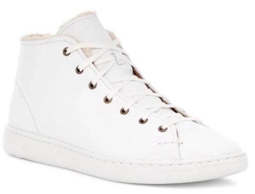 UGG - Leather Sneakers, Size 8, NIB