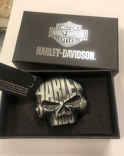 HARLEY DAVIDSON - Night Skull Belt Buckle, NWT