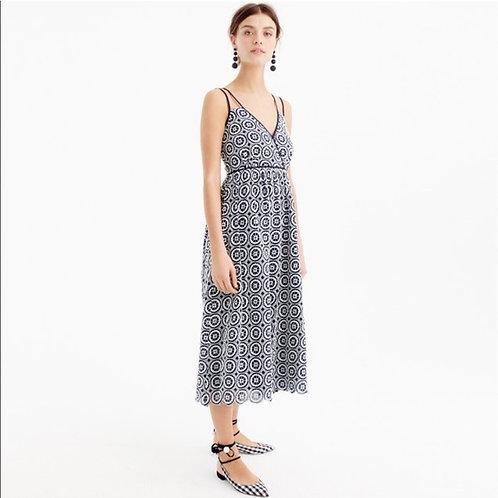 J. CREW - Eyelet Dress, Size 14, NWT