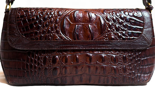 BRAHMIN - Brown Leather Handbag