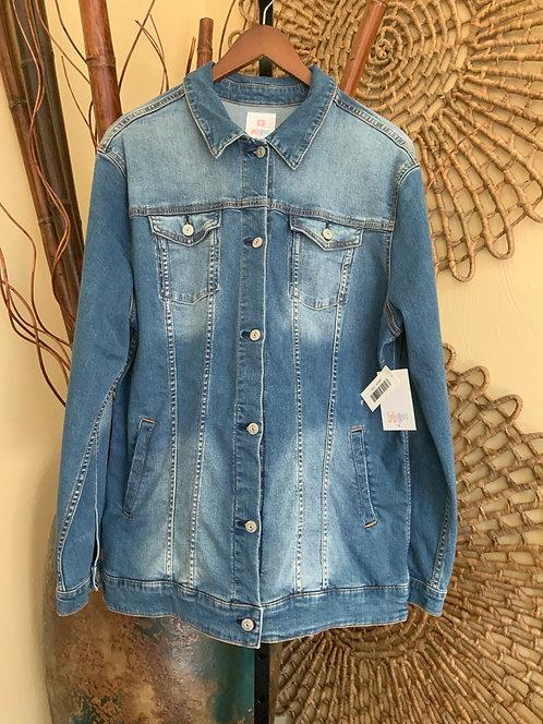LULAROE - Blue Denim Jacket, JAXON, Size 2XL, NWT