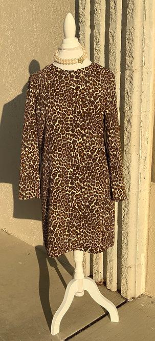 BANANA REPUBLIC - Animal Print Dress, Size 8, NWT