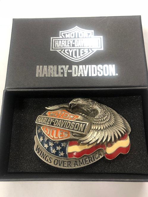 HARLEY DAVIDSON - Wings Over America Belt Buckle