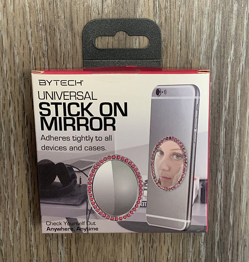 CELL PHONE MIRROR, Pink Rhinestones, BRAND NEW IN BOX