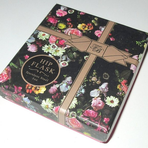 TED BAKER - Engraved Round Flask, BRAND NEW IN GIFT BOX