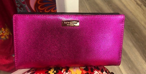 KATE SPADE - Pink Leather Wallet, NWT