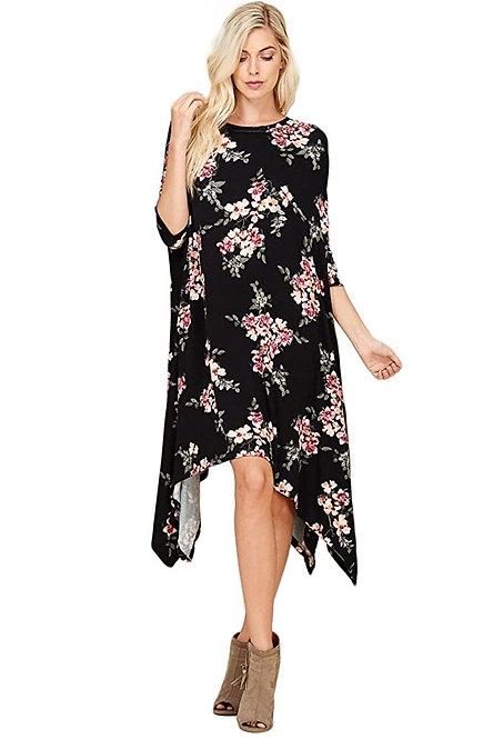 SharkBite Floral Dress
