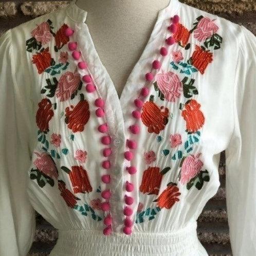 CHICWISH - Embroidered Boho Dress, Size XS, NWT