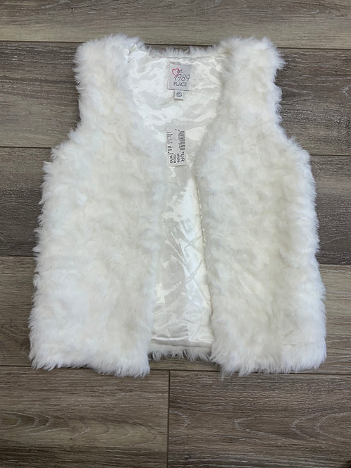 CHILDREN'S PLACE - Faux Fur Vest, Size L (10/12), NWT