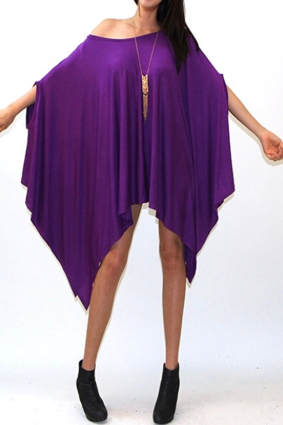 Sleeveless Poncho Top