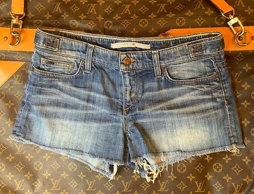 JOE'S JEANS - Frayed Denim Shorts, Size 27