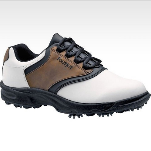 FOOTJOY - Brown/White/Black Golf Shoes, Size 11, NIB