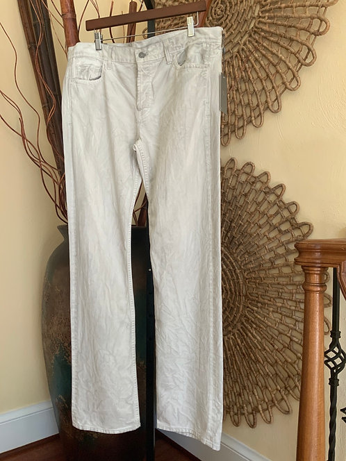 7 FOR ALL MANKIND - Tan Distress Wash Jeans, Size 36, NWT