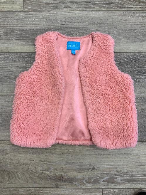 CHILDREN'S PLACE - Faux Fur Vest, Size L (10/12)