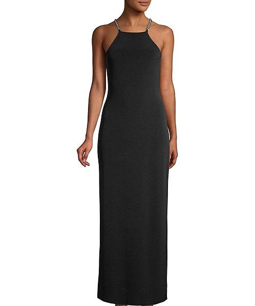 MICHAEL KORS - Black Gown, Size XS, NWT