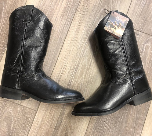 OLD WEST Leather Cowboy Boots, Size 8.5, NWT