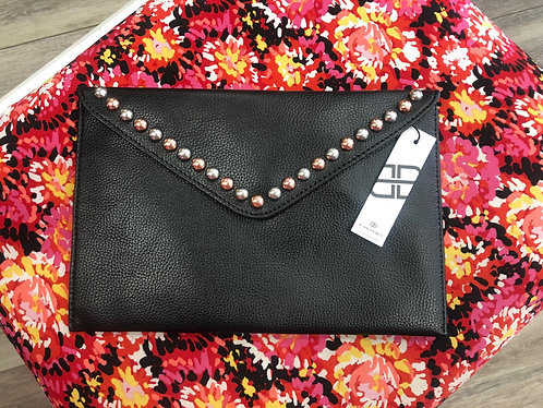 B-LOW THE BELT - Studded Clutch Bag, NWT