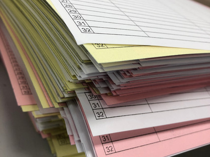 Carbonless (NCR) Forms