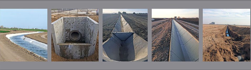 Ditch Lining, Structures, Irrigation Gates, Pipelines