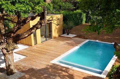 REALISATION Lyon - Pool House - Studio2j