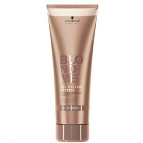 Schwarzkopf - Detoxifying System - Purifying Shampoo - All Blondes