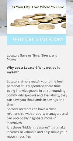 why use a locator .jpg