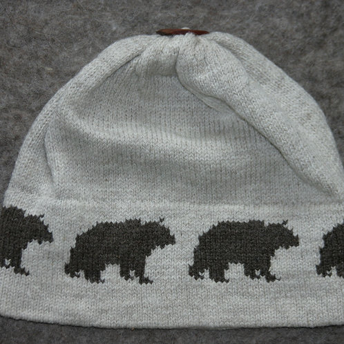 Bear Border Hat