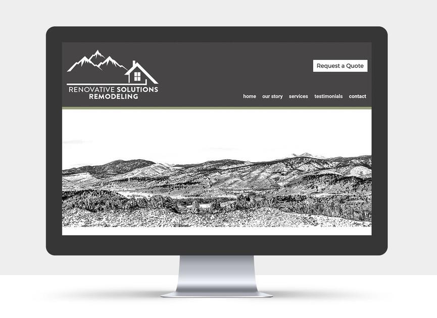 Renovative Solutions Website view 6