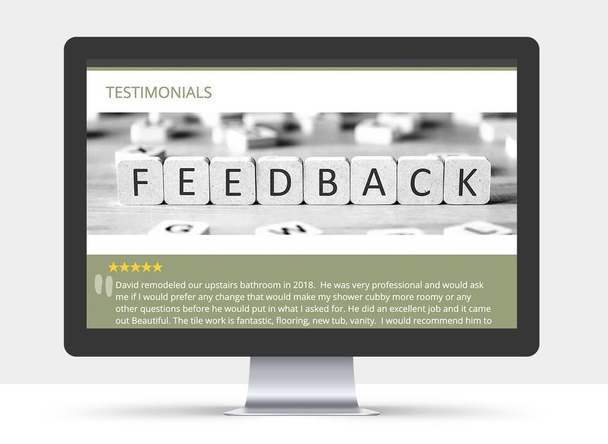 Renovative Solutions Website view 5