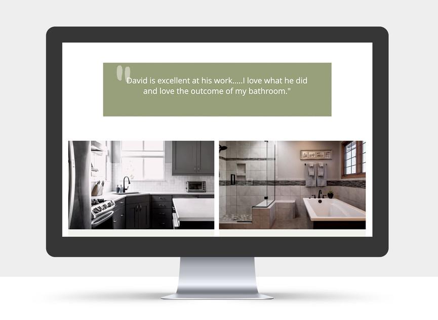 Renovative Solutions Website view 2